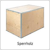 Verpackungen aus Sperrholz
