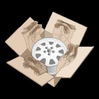 Kartoninhalt polstern