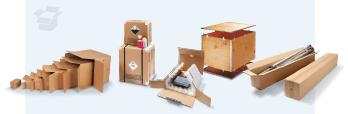 Kartons, Schachteln und Kisten