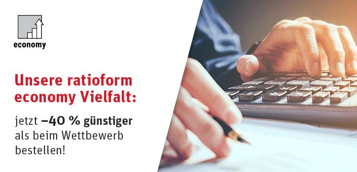 ratioform economy – Qualität zum günstigen Preis!