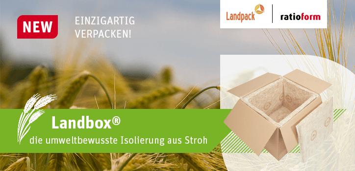 Neu: Landbox - die umweltbewusste Isolierung aus Stroh